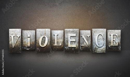 Fényképezés  Violence Letterpress