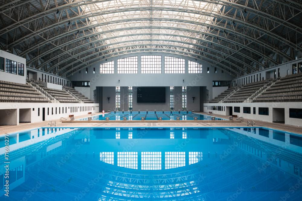 Fotografie, Obraz Empty swimming pool   Posters.cz