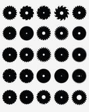 Set Of Different Circular Saw ...