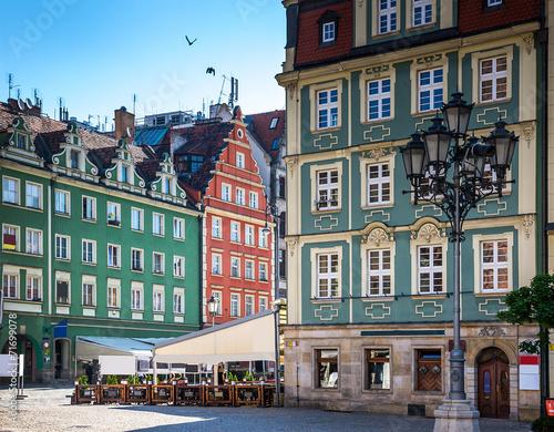Fototapeta Wroclaw - Poland's historic center obraz