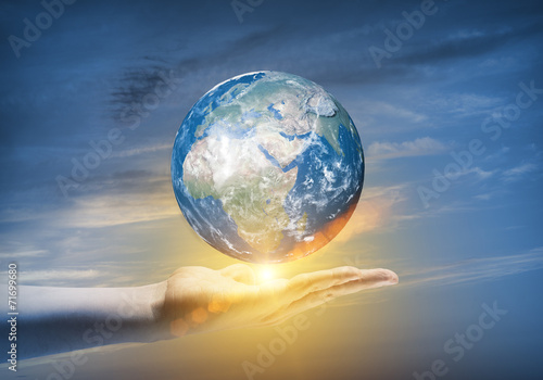 Fototapety, obrazy: Our Earth planet