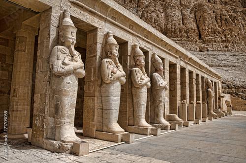 Tuinposter Egypte Hatshepsut near Luxor in Egypt