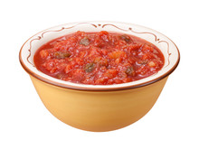 Salsa Bowl Isolated