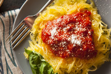 Homemade Cooked Spaghetti Squa...