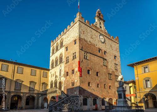 Fotografie, Obraz  Palace Pretorio in Prato