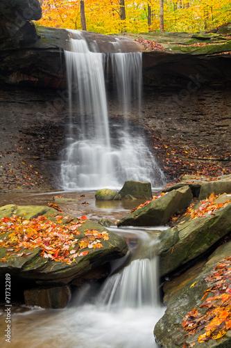 Vászonkép  Blue Hen Falls