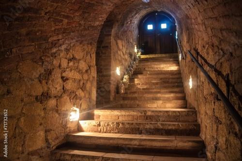 Wine cellar in Valtice Fototapete