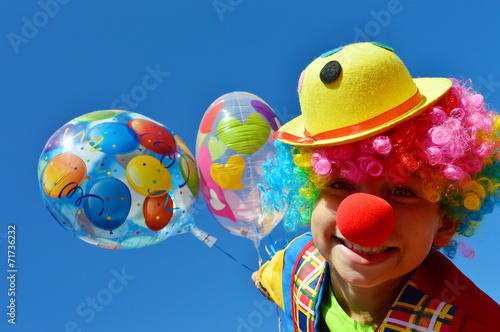 Fotobehang Carnaval Clown