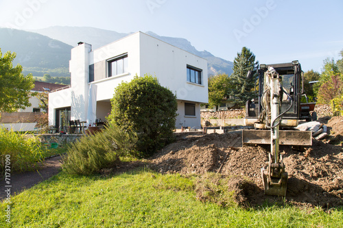 фотография  Chantier de construction