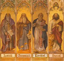 Trnava - Fresco Of Prophets Isaiah, Jeremiah, Ezekiel, Daniel