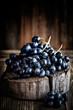 canvas print picture - grapes