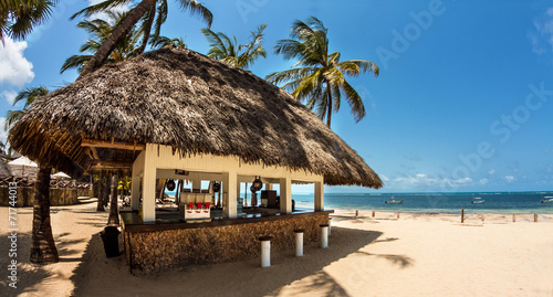 Fotografie, Tablou Bar in spiaggia