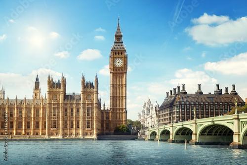 Photo Big Ben in sunny day, London