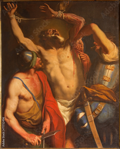 Padua - The Martyrium of Saint Bartholomew the apostle