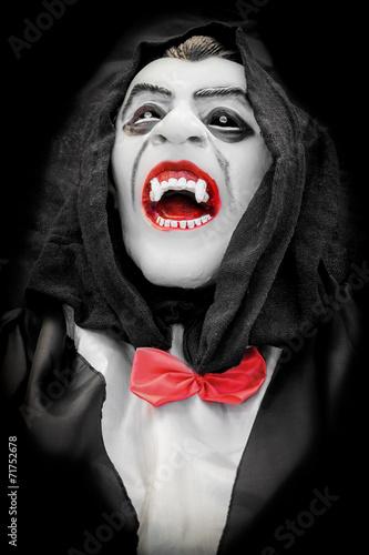 Fotografie, Obraz  A mask for halloween or carnival