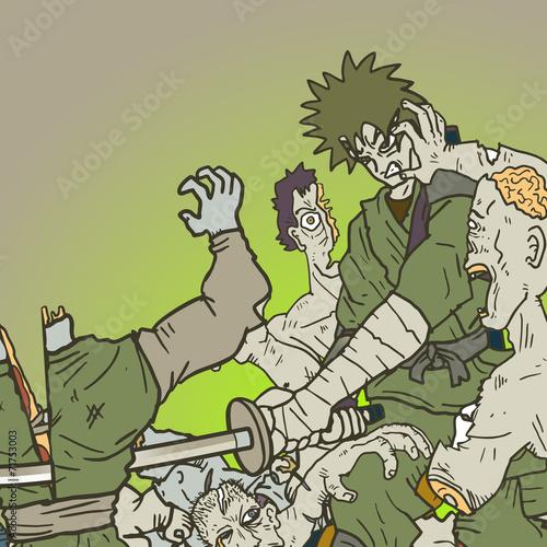 Fotografia, Obraz  War zombies