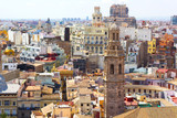 View on Valencia city from the tower. - 71754462