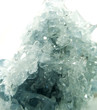 celestite geode geological crystals