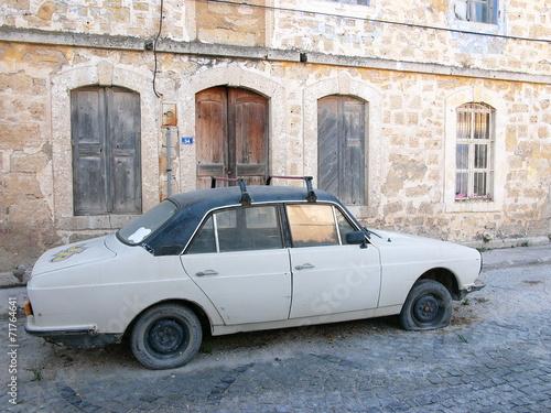Poster Havana Alte Limousine aus türkischer Produktion in Alacati bei Izmir