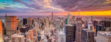Paesaggio Di Città Di New Yor...