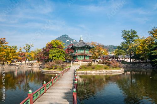 Foto op Canvas Seoel Gyeongbokgung Palace