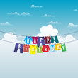 Birthday Clothesline