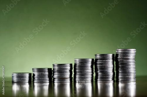 Fotografía  Stack of coins