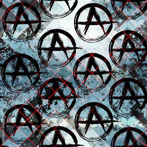 Tapety do pokoju młodzieżowego oznaki-anarchii