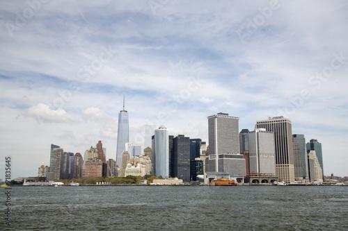 Tuinposter New York City New York - Skyline