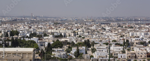 Tunis-Tunisia Capital city panorama 07/18/2014