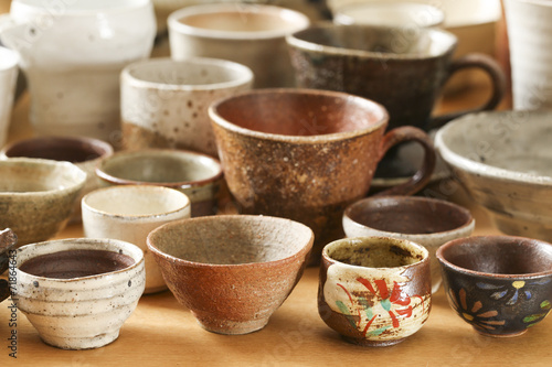 Fotografía  陶器 の 食 器