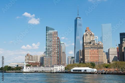 Une visite de New York Poster