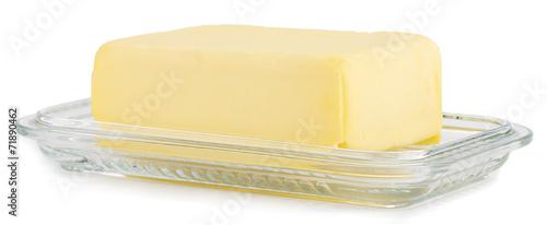 Butter on Glass Butterdish
