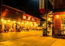 Night Walking Street Market, C...