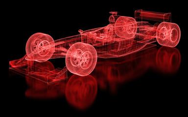 Fototapeta Formuła 1 Formula One Mesh