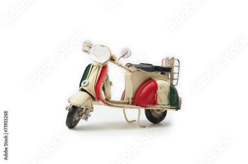 Photo  Handmade Vespa Moped 01