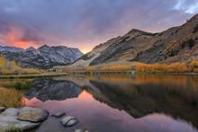 Sunset At Bishop, Autumn, Fall...