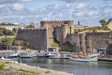 Old Castle Of City Brest, Brittany, France