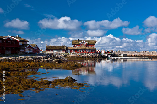Staande foto Athene Norway - fjord reflection