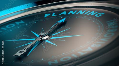 Obraz Planning - fototapety do salonu