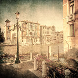 Vintage obraz Canal Grande, Wenecja - 71956697