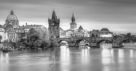 Obraz na Plexi Widok na Most Karola Praga,Czechy.