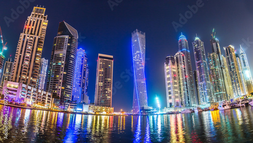 Fototapety, obrazy: Dubai Marina cityscape, UAE