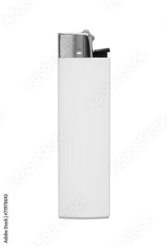 lighter on white background Wallpaper Mural
