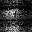 Abstract dark pixel background, made of black cubes.