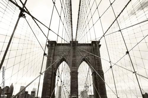 Fotobehang Brooklyn Bridge Brooklyn Bridge
