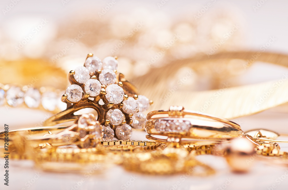 Fototapeta Jewelry.