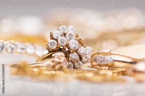 obraz dibond Jewelry.