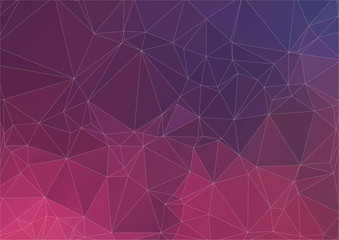 Abstract colorful background of triangles.