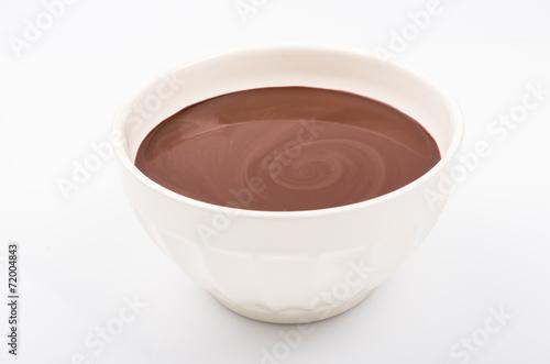Spoed Foto op Canvas Chocolade chocolat chaud